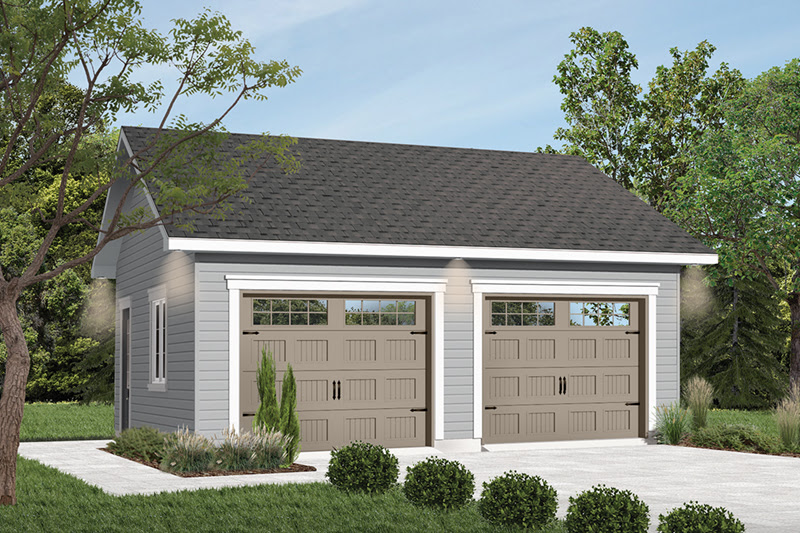 Gridstone Two Car Garage Plan 113D 6022 House Plans and More