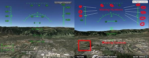 GE Flight Sim Problems