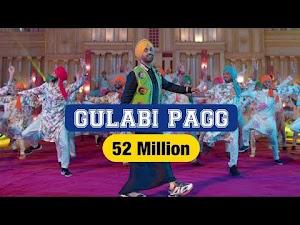 GULABI PAGG LYRICS – Diljit Dosanjh | Roar | Latest Punjabi Song 2018