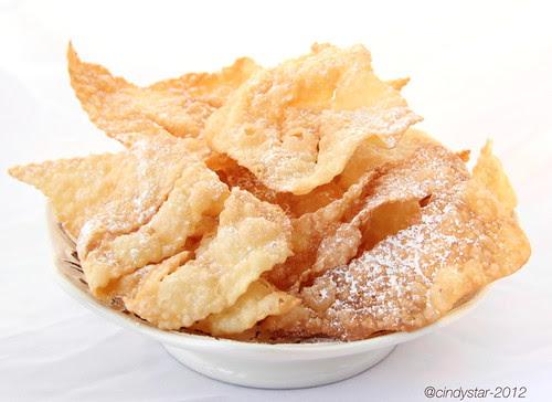 galani-italian carnival treats