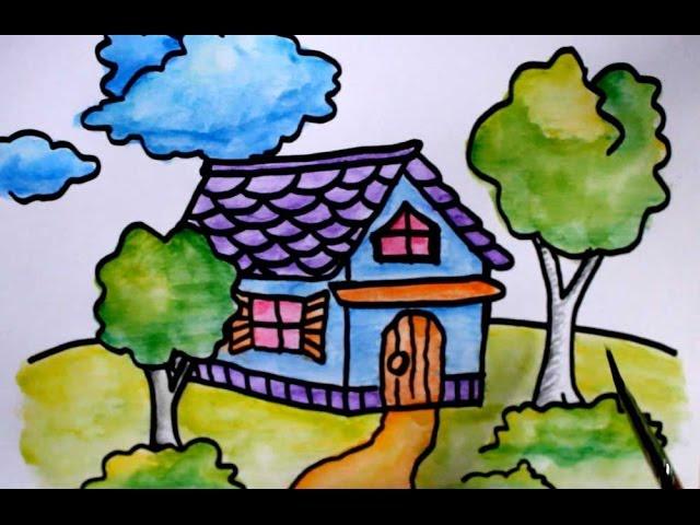 48 Gambar Rumah Versi Anak-anak Gratis