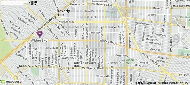 9675 Brighton Way Beverly Hills Ca 90210 Directions