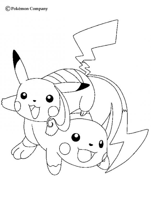 Coloriages Pokémon Frhellokidscom