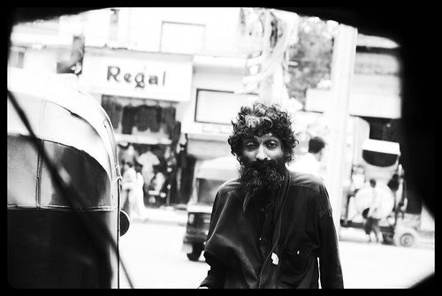 The Long Tie Beggar of Bandra Is Dying Slowly At Bhabha Hospital Bus Stop by firoze shakir photographerno1