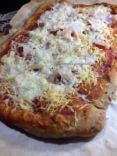 pizza integrale ai semi