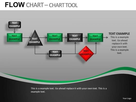 Editable Flow Chart Template For PowerPoint Presentations ...