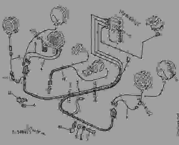 John Deere 1020 Ignition Switch Diagram