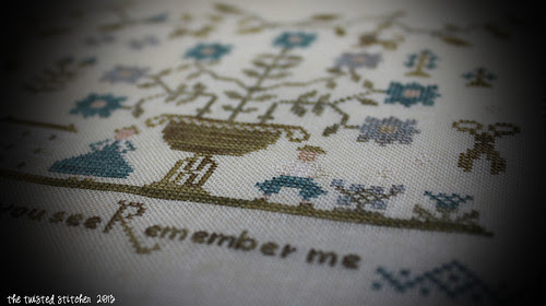 Forget Me Not Sampler 4
