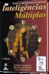 capa do livro ensino e aprendizagem por meio das inteligências múltiplas