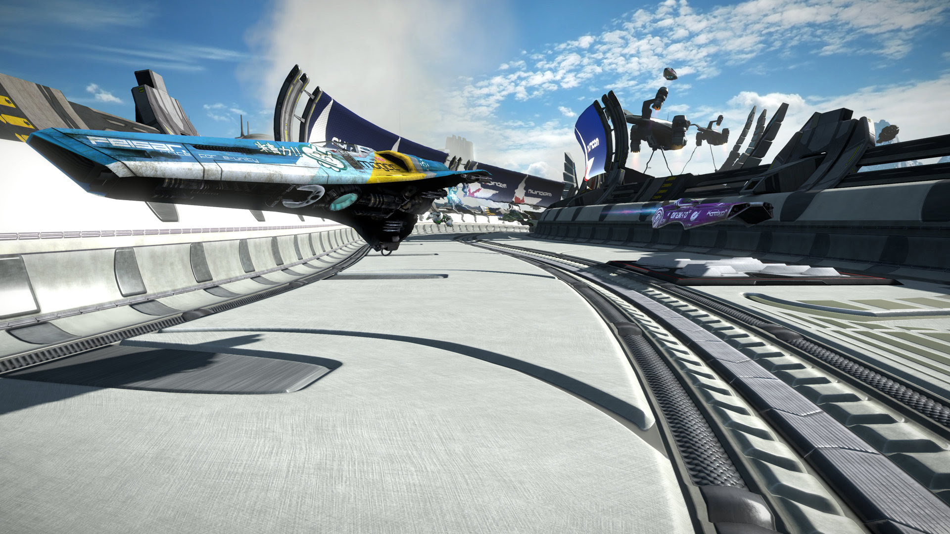 Review: WipEout Omega Collection screenshot