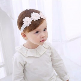 Fashion Toddler Headband Childrens Cute Baby Band Lace Flowers