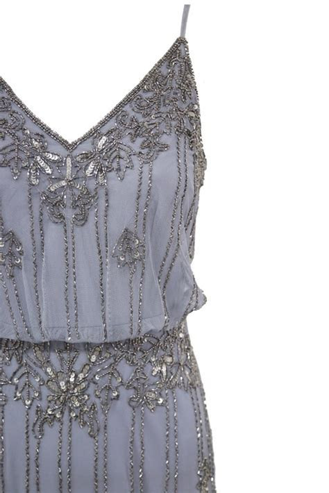 LACE&BEADS KEEVA GREY MAXI DRESS   LACE&BEADS PARTY DRESS