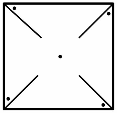 costruiamo una girandola (make pinwheel)