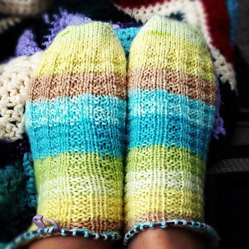 #ravellenicgames socks progress!