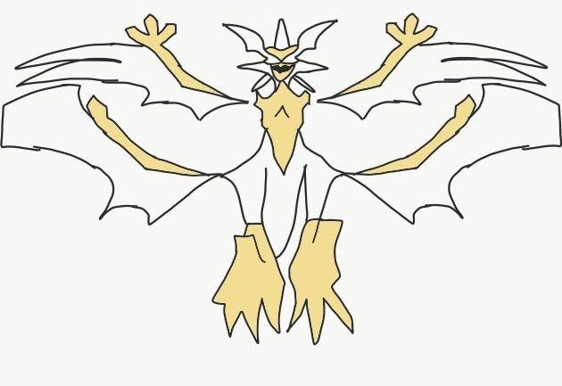 Pokemon Ultra Sun and Moon Ultra Beast Drawing Pok ...