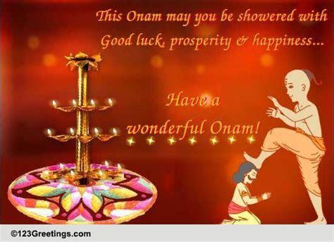 The Auspicious Festival Of Onam. Free Onam eCards