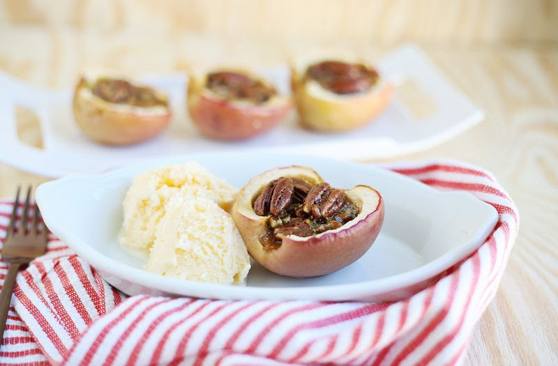 Apple pecan pies from A Beautiful Mess