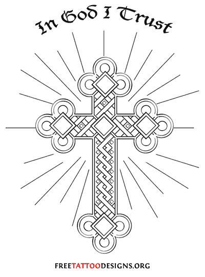 Cross Tattoo Drawing At Getdrawingscom Free For Personal Use
