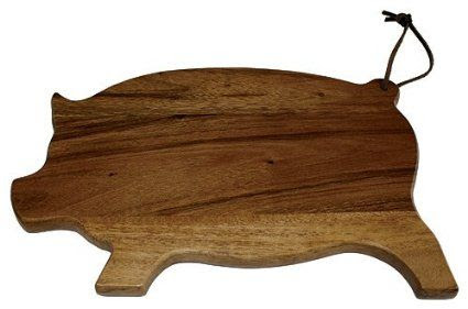 Mountain Woods Acacia Pig Board