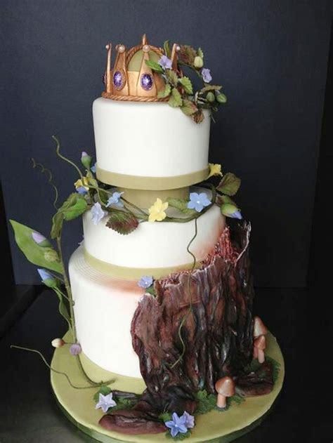 Fairy Tale Wedding Cake Toppers Wedding Cake   Cake Ideas