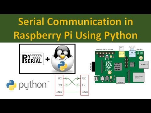 Serial Communication in Raspberry Pi Using Python
