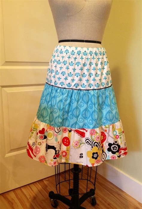 tiered skirts ideas  pinterest dress stores