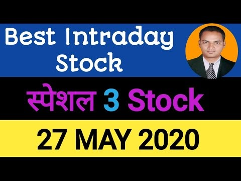 Best intraday trading stock For 27 May 2020   stock for tomorrow trading...
