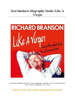 37+ Richard Branson Biography Book Pictures