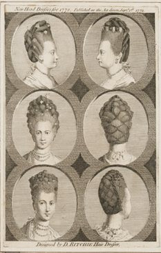 Hairwebde Mode In Barock Rokoko Frisuren In Der Historie
