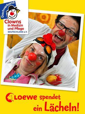 Loewe spendet ein Lächeln!
