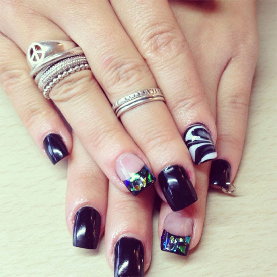 Nail Designs Ideas Acrylic Nail Designs