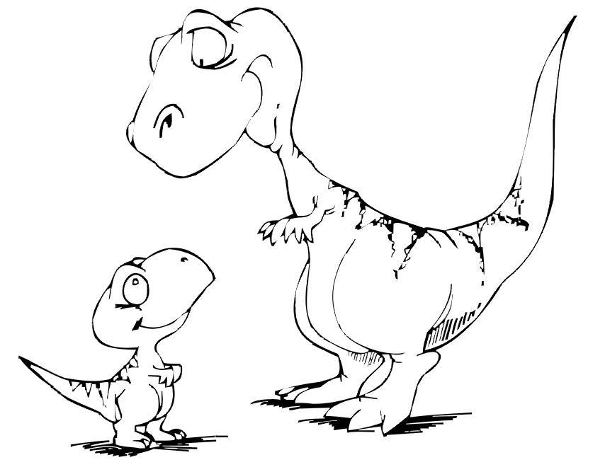 Dibujos De Dinosaurios Para Imprimir Y Colorear Imagesacolorier