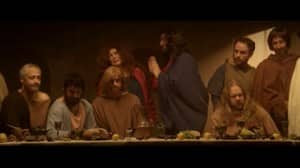 Image result for this hour has 22 minutes last supper sketch