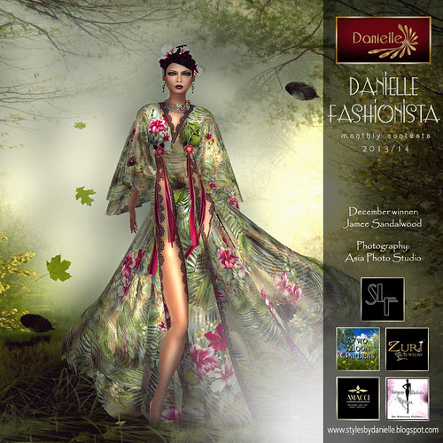 Danielle Fashionista 2013/14 Dec winner Jamee Sandalwood