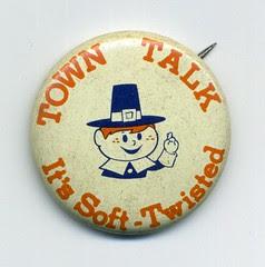 Town Talk button