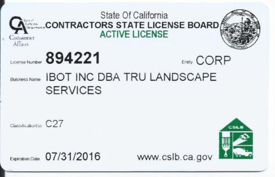 Licensed Landscape Contractors Orange County 540x348