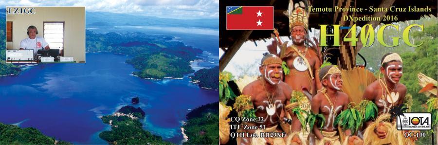 Temotu Province Solomon Islands H40GC