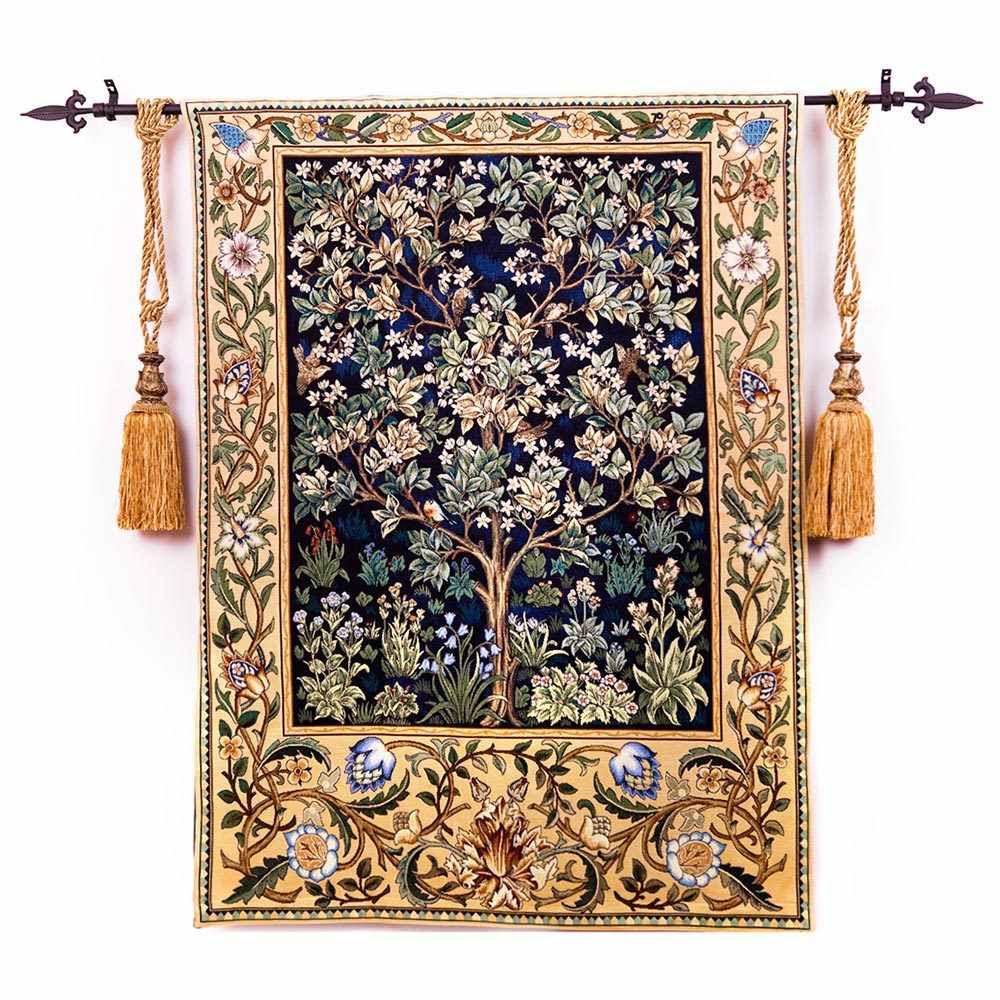 100 Cotton Belgium Tapestry William Morris The Tree Of