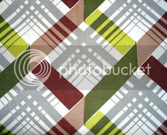 vintage mid century fabric