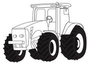 Ausmalbilder Traktoren Malvorlagen Kostenlos Zum Ausdrucken
