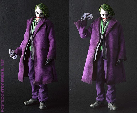 welcome to a world without rules: 1/6 rah joker & batman ...