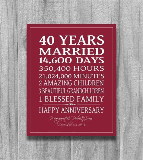 25  Best Ideas about Ruby Wedding Anniversary Gifts on