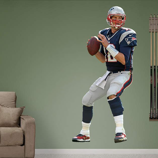 Tom Brady - Quarterback Fathead Wall Decal