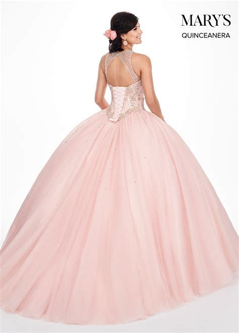 Marys Quinceanera Dresses   Style   MQ1044 in Blush/Rose