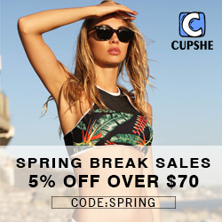 Spring Break Sales! 5% Off Over $70  Code:SPRING! Free Shipping!