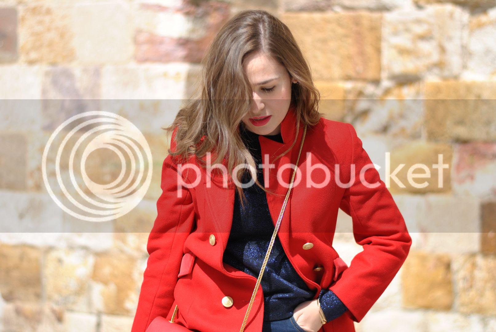 My favorite red coat