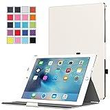 Apple iPad Proケース - ATiC iPad Pro 12.9 インチ iOS 9(2015)タブレット専用熱処理マルチアングルスタンド薄型ケース WHITE