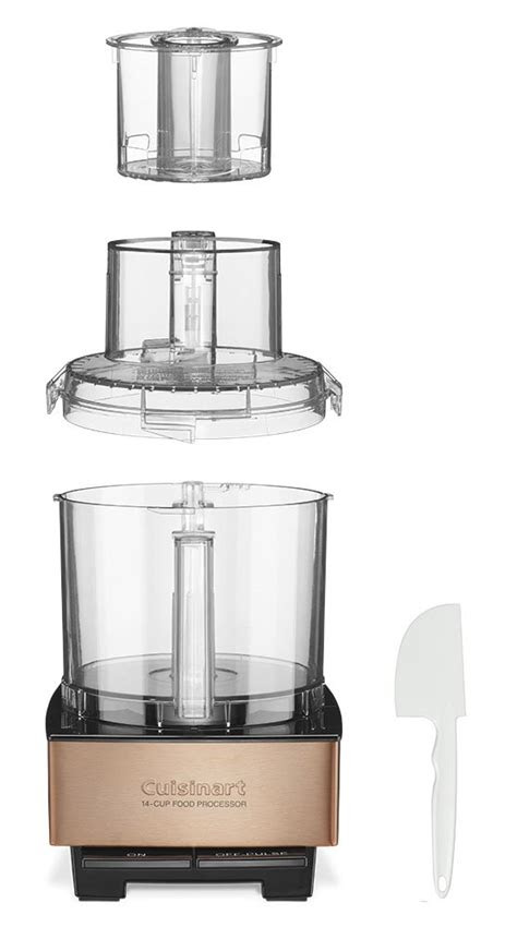 cuisinart dfp cpy custom  food processor copper