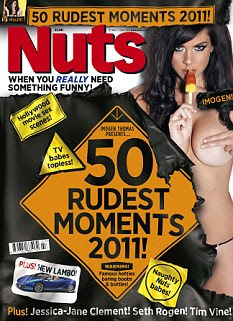 Out now: Nuts magazine is available to buy from today