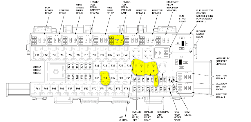 34 Ford E350 Trailer Wiring Diagram